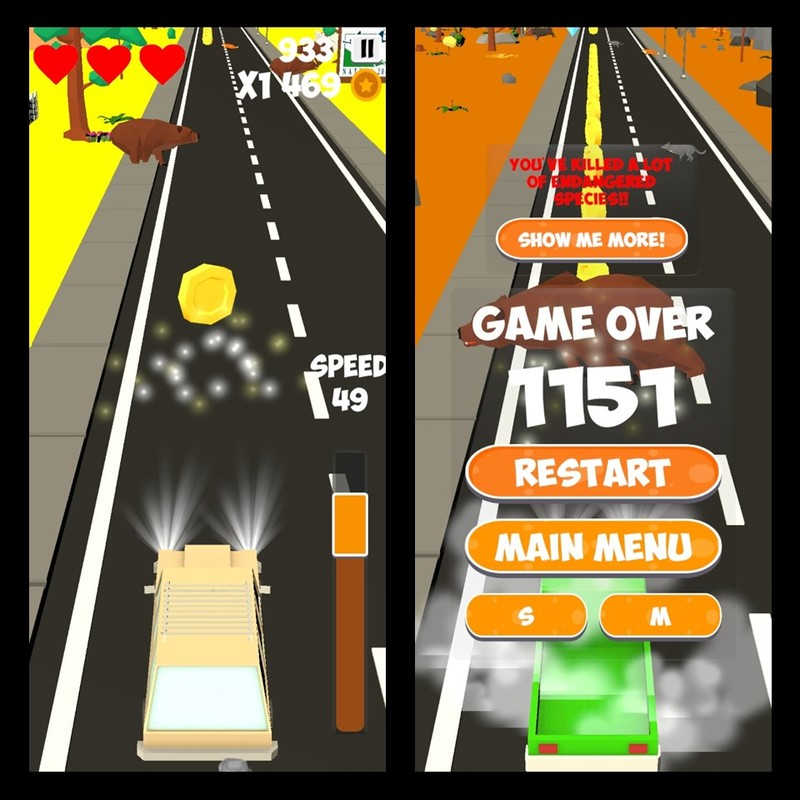 "Video game ""Avoid it!!"" ready for download on App stores!"