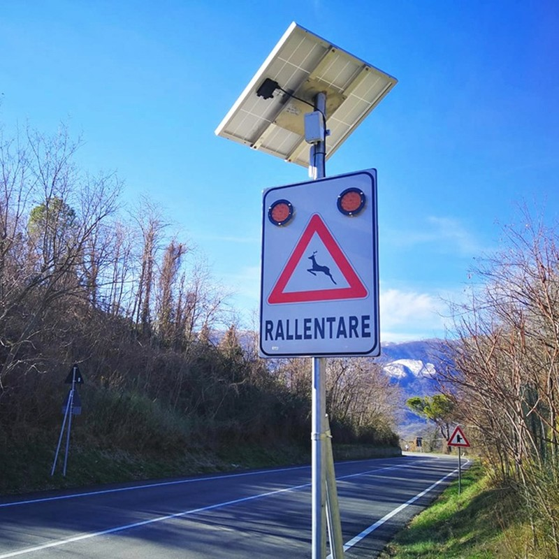 First Animal Vehicle Collision Prevention Systems installed in Italy