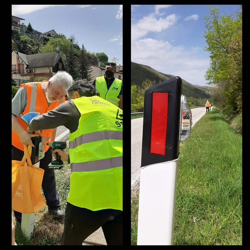 First virtual fence installed in the Abruzzo Lazio and Molise National Park